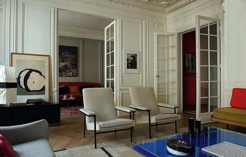 modern french living room modern 16175