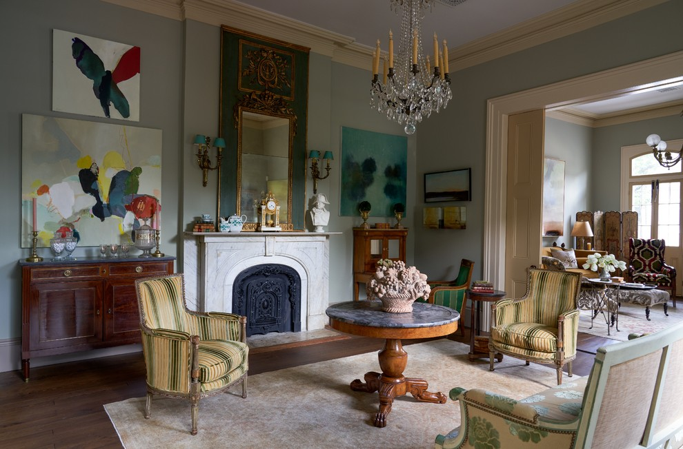 French Quarter Maisonette Traditional Living Room New Orleans By Decorations Lucullus
