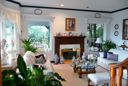 Traditional Living Room on Houzz