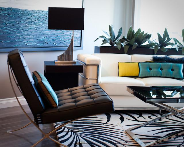Fresco Interiors Design Portfolia modern-living-room