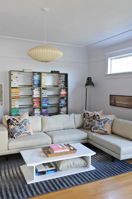 Fresh Family Fun modern-living-room