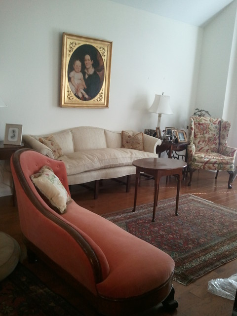 Freshening Up the living Room traditional-living-room