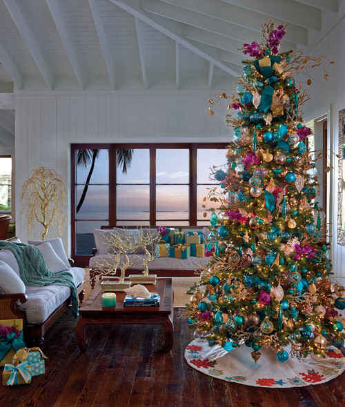 How To Decorate A Live Christmas Tree: How To Decorate Under A Christmas Tree