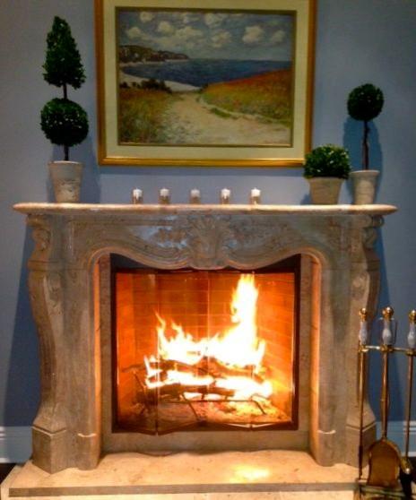 Ft Salong Custom Marble mediterranean-living-room