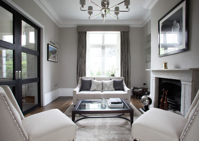 Fulham Road Terraced House London Contemporary Living Room