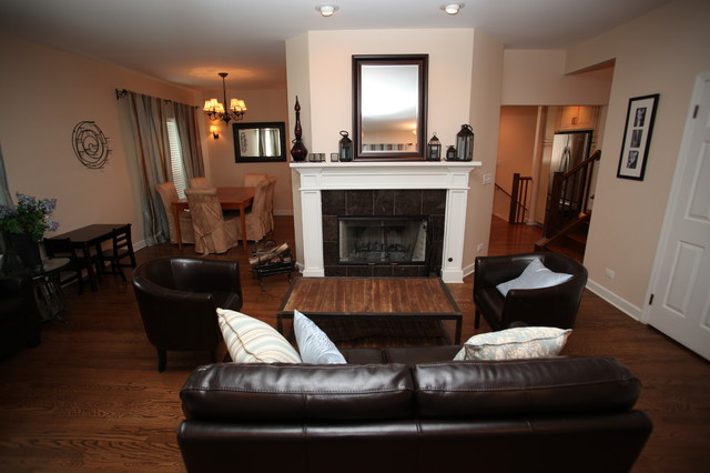 Gignac Home Remodel Living Room Chicago By Reliable Home Improvement