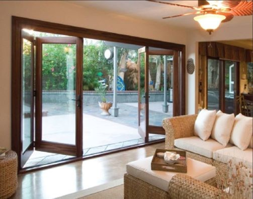 Full View Bi Folding Patio Doors Orange County By