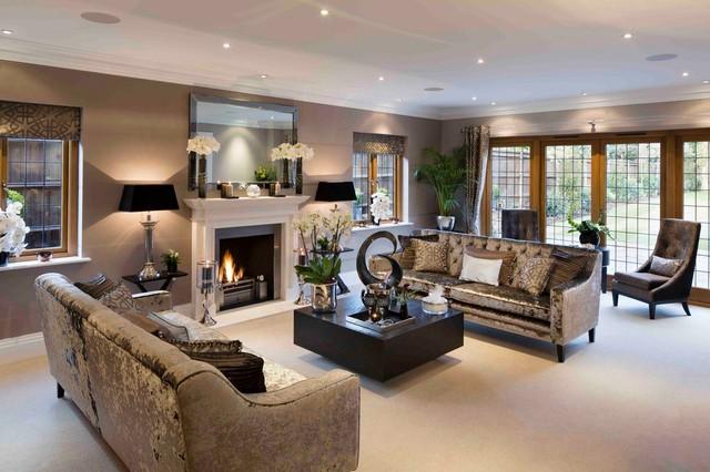 Beautiful Interiors Of Living Room Vignette - home design ideas ...
