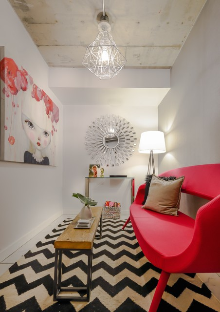 Fun And Funky Modern Living Room Toronto By Jessicah Kolter Interior