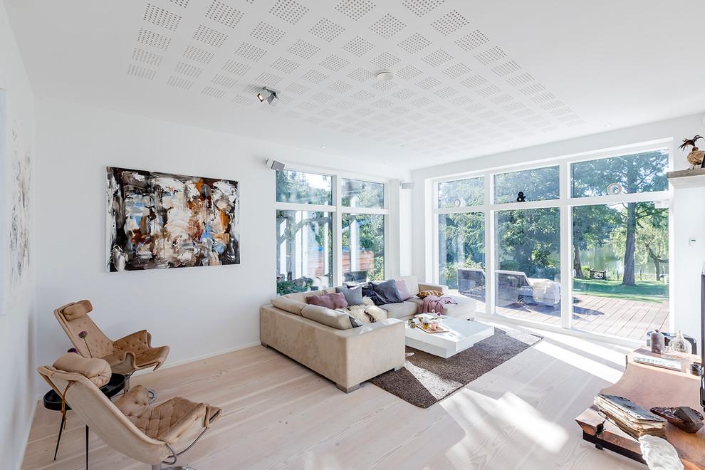 客厅 地板砖_客厅北欧风格效果图大全2017图片_土拨鼠干净自然客厅