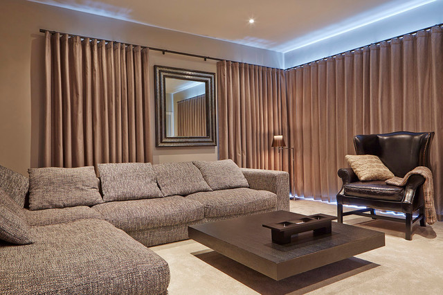 Funky Family Home Modern Living Room Manchester By Curve Interior Des
