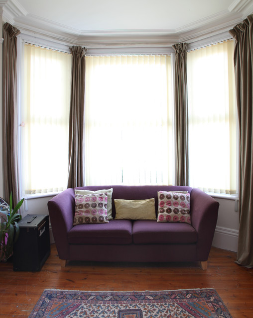 Funky family streatham common london eclectic living for Funky living room designs