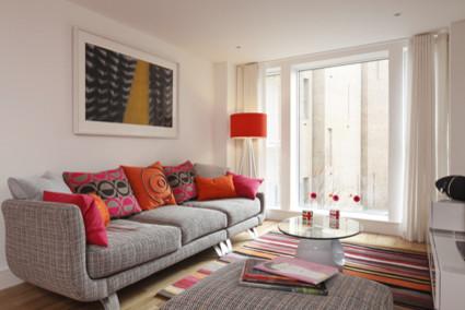 Funky Modern Living Room Modern Living Room London