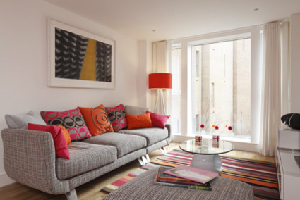 Funky Modern Living Room Modern Living Room London By Adrienne Chinn Design