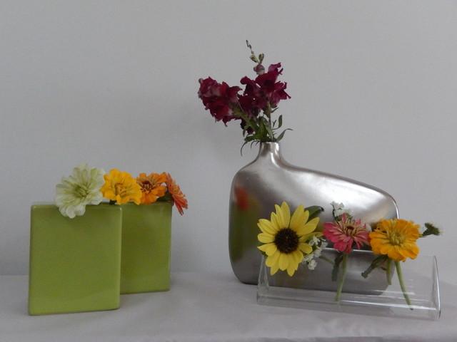 Funky Vases Flower Arrangements From Snapdragon Home Decor