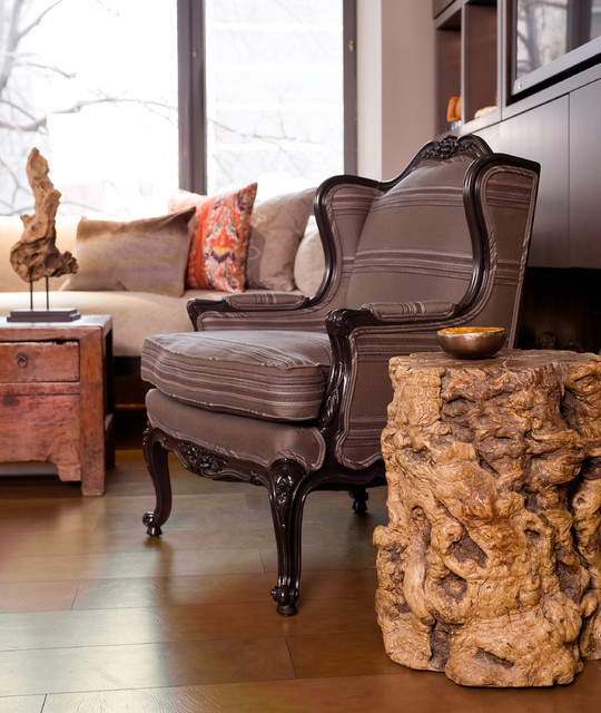 Eclectic Living Room Furniture: Furniture Detail