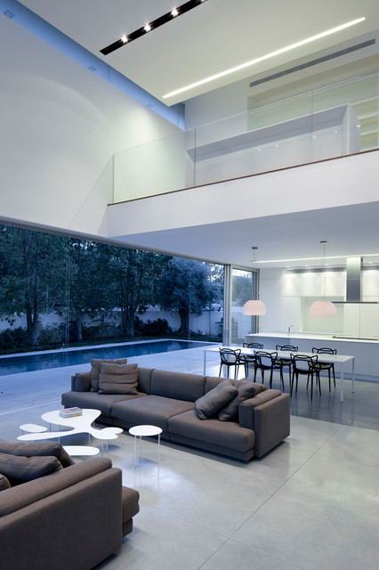 G House in collaboration with Pitsou Kedem modern-living-room