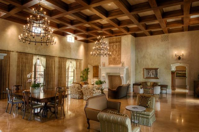 Gabriel Builders mediterranean-living-room