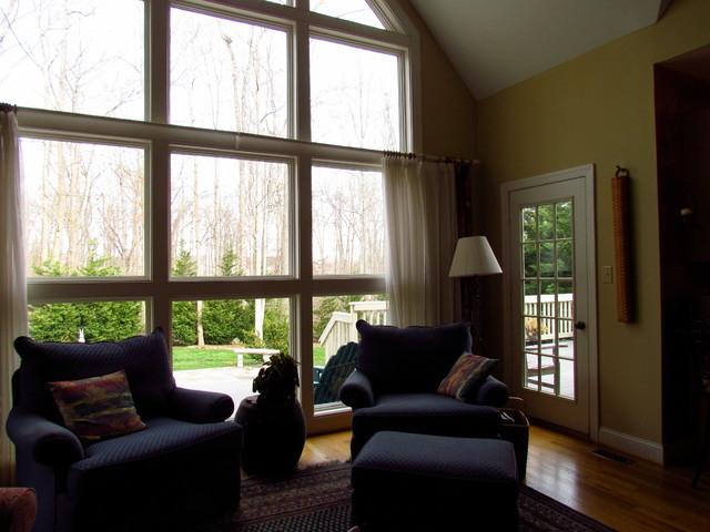 Gainesville, VIrginia eclectic-living-room