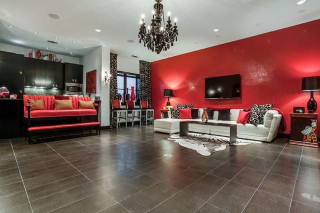 Game Room contemporary-living-room