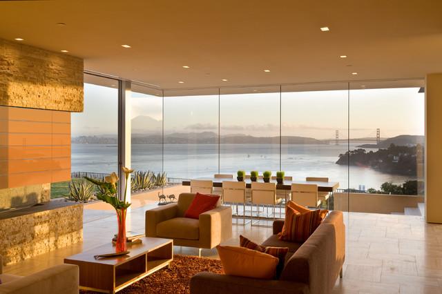 Garay Residence modern-living-room