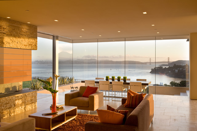 Garay Residence modern-living-room