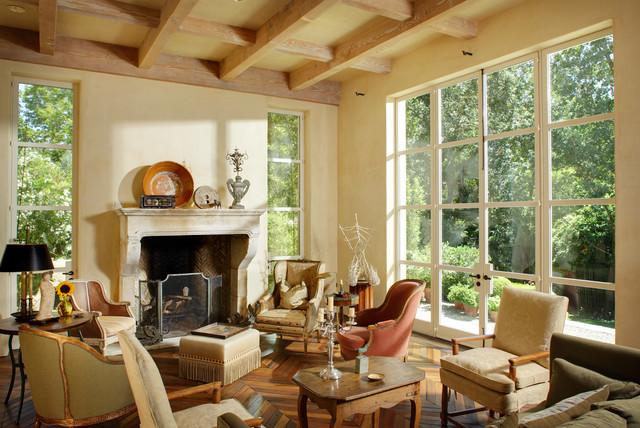 Garden House eclectic-living-room