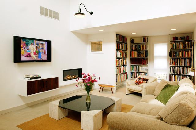 Garden Loft - Contemporary - Living Room - philadelphia - by Sullivan Building & Design Group