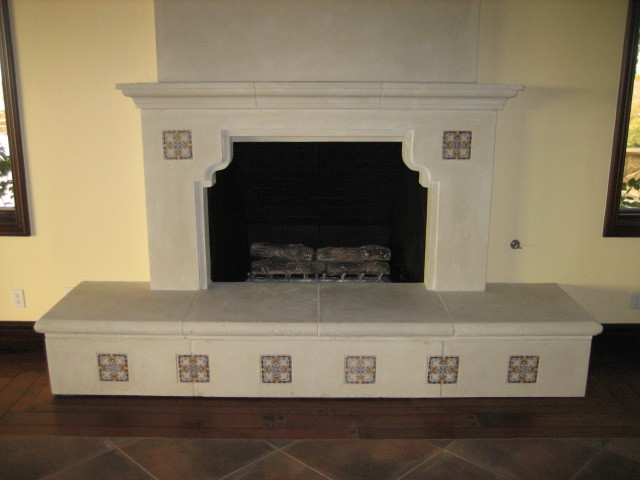 Garret Home Remodel with Spanish Ceramic Tile mediterranean living room