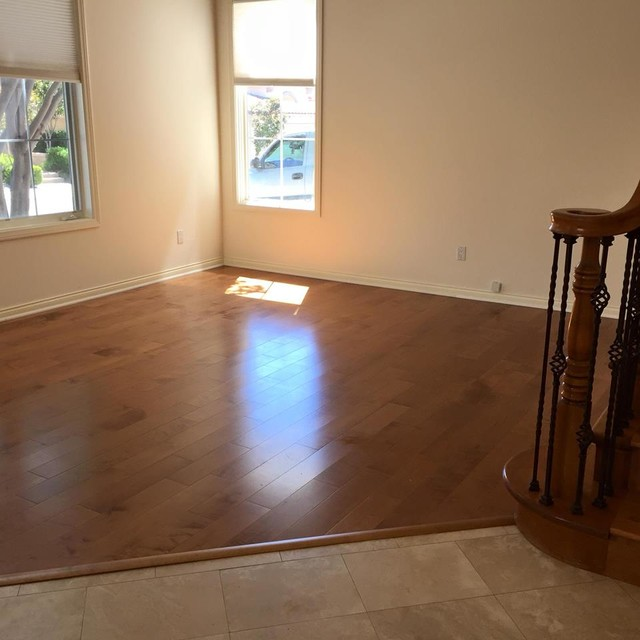 Garrison ii maple wheat smooth install traditional for Hardwood floor dealers
