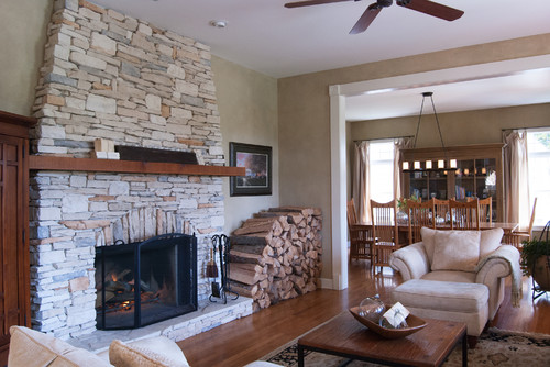 While I love the ease a gas fireplace, there's nothing like a dwindling  fire on a cold winter day. - Gas Fireplace Vs. Woodburning Fireplace - How To Nest For Less™
