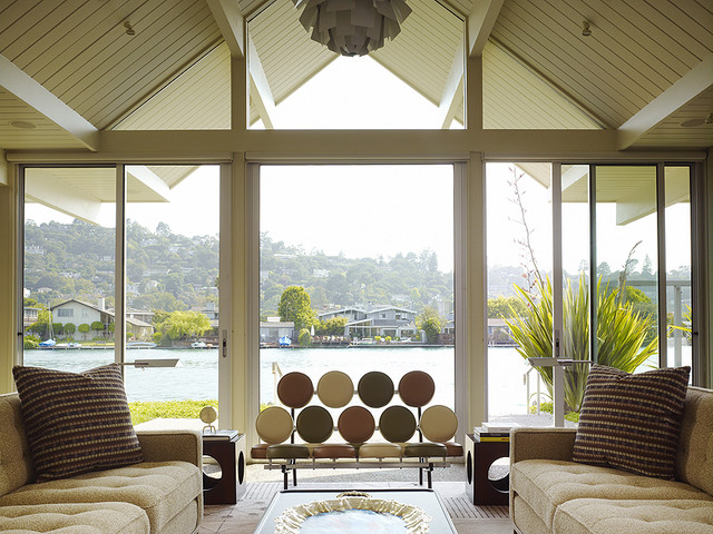 Gary Hutton Lagoon House contemporary living room