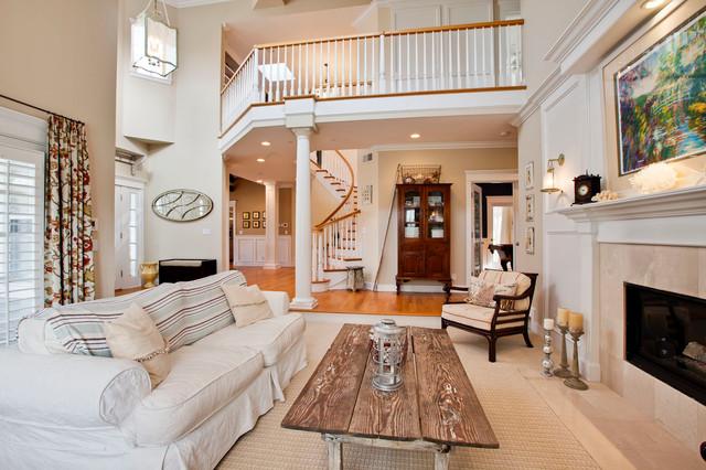 Gary M. Lane traditional-living-room