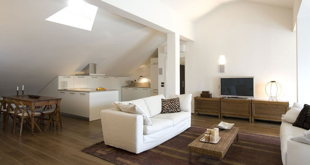 GAS architects contemporary-living-room