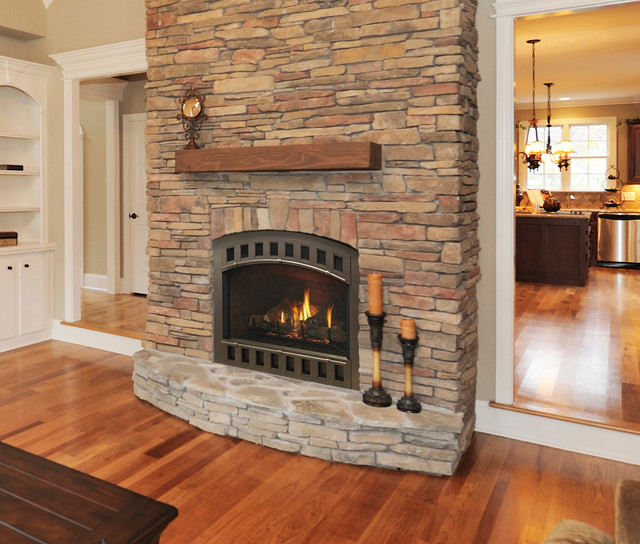 Gas Fireplaces And Inserts Traditional Family Room