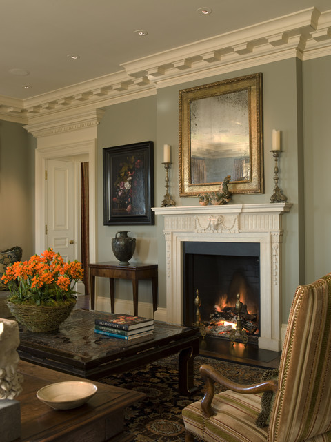 Gast Architects: Projects traditional-living-room