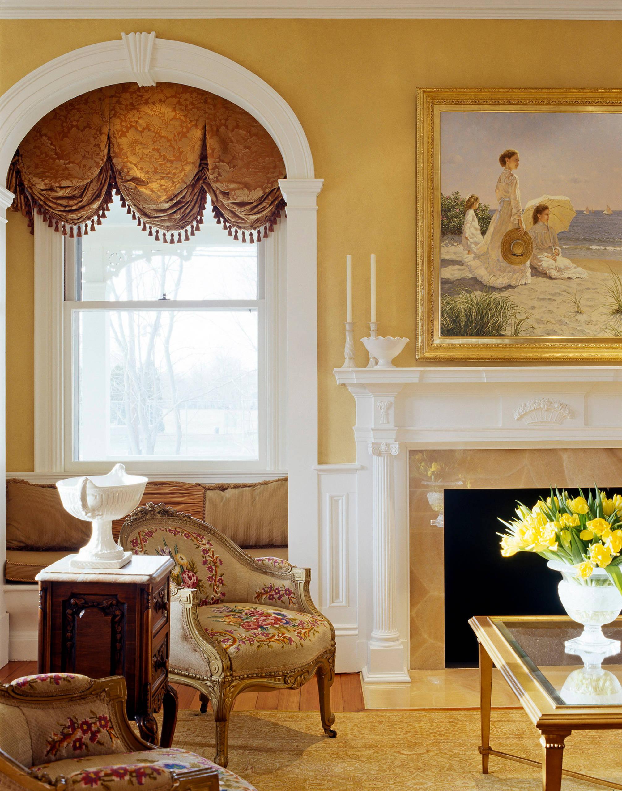 Victorian Window Treatment Houzz