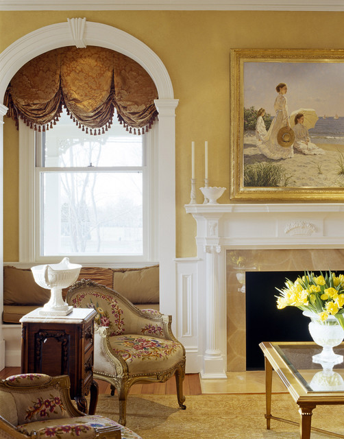 Gatsby traditional-living-room