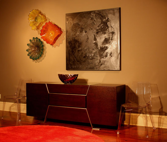 Gauthier Contemporary Credenza In Living Room, French