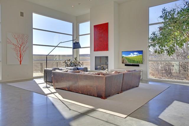 Geometric Home modern-living-room