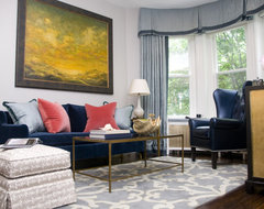 Georgetown Townhouse eclectic living room