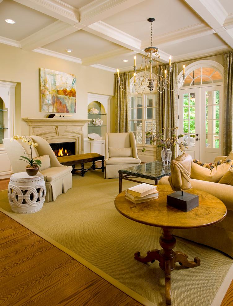 Classic Living Rooms Interior Design: Georgia Charm- Interior Design In Atlanta