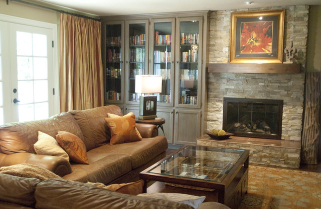Georgia Perry C 2012 Houzz Traditional Living Room