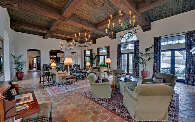 Georgia S Premier Residence Little Hawkins Island Mediterranean Living Room