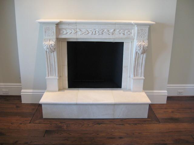 Georgian Row traditional-living-room