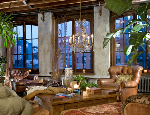 Eclectic Living Room By Los Angeles Design Build Firms