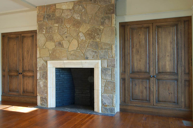 Get Cozy With Morgan Creek Cabinet Company's Living Rooms traditional-living-room
