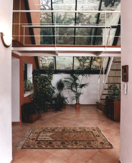 Ghar Harruba mediterranean living room