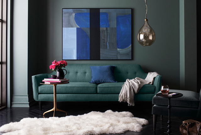 gia sofa contemporary living room chicago by crate