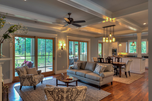 9 Ft Coffered Ceiling